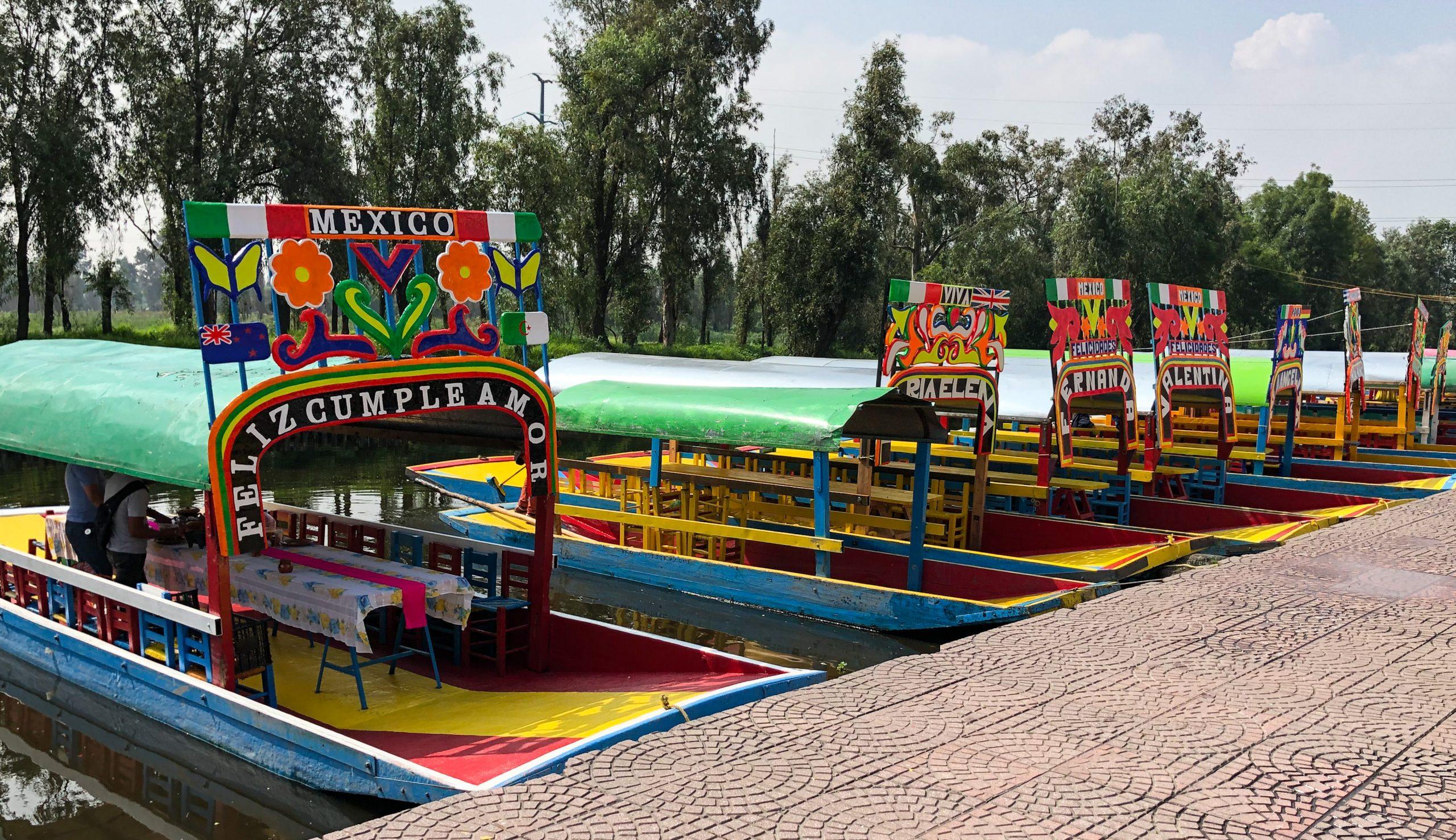 Boats at Embarcadero Cuemanco