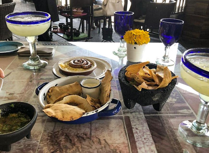 Snacks at Gran Hotel Mexico City