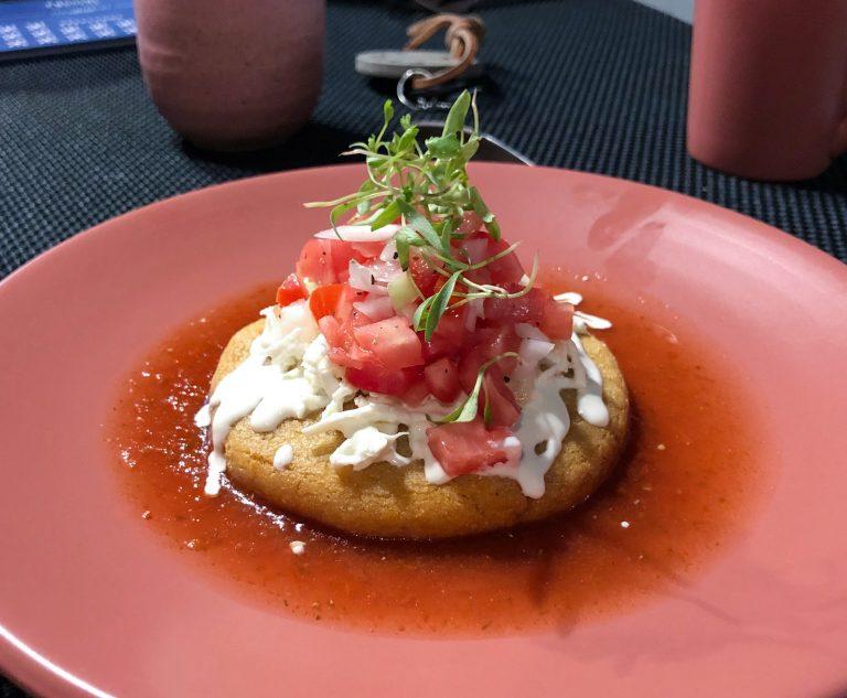 Puffy Taco Pujol Mexico City