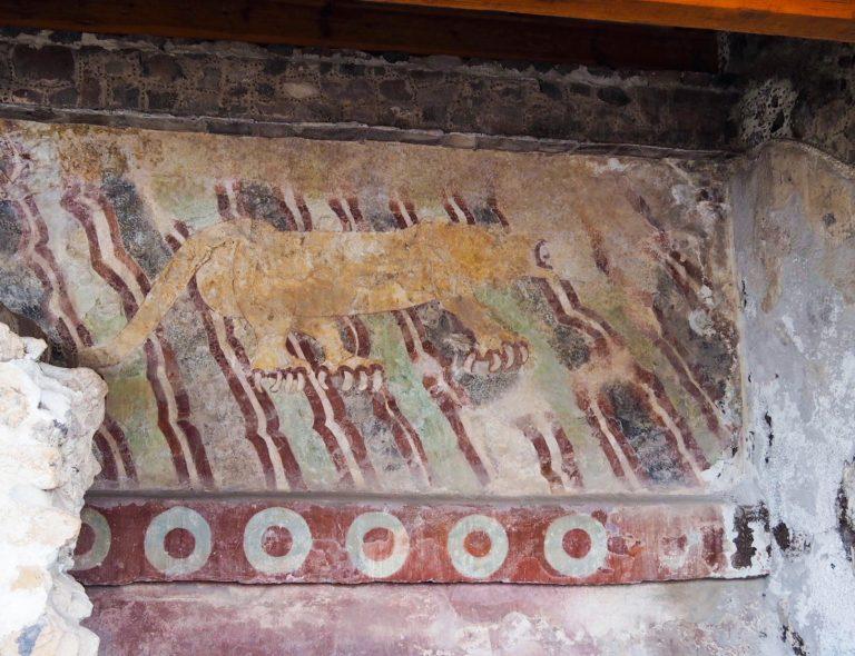 Puma Mural Teotihuacan