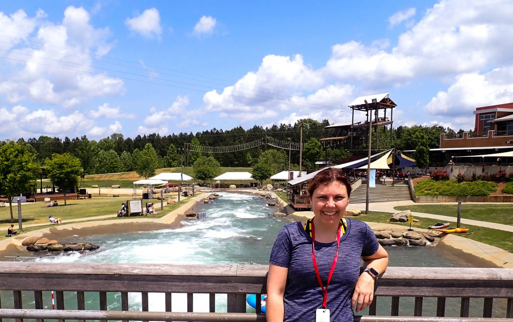 National Whitewater Center in Charlotte, North Carolina