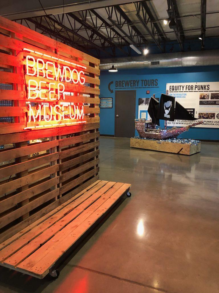 Brewdog Brewery Museum Sign Columbus