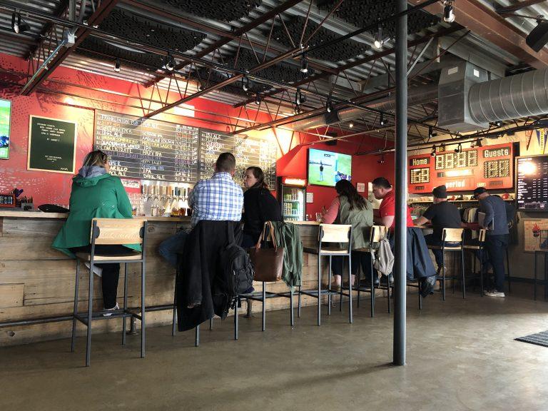 Columbus Ohio Land Grant Brewing Bar