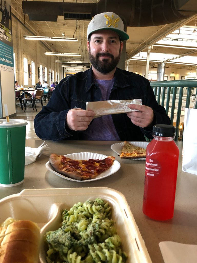 Lunch at North Market Columbus