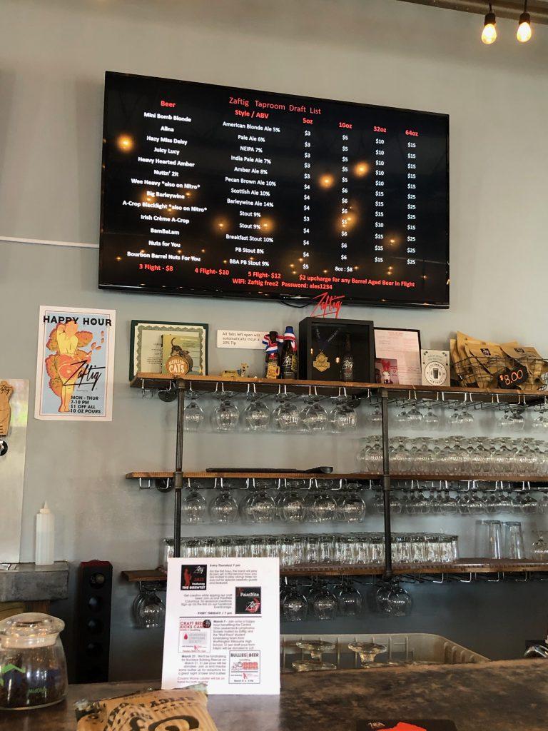 Zaftig Brewery Bar