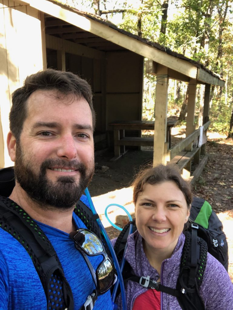 Selfie at Blue Mountain Shelter