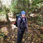 Amber Hiking at Enota