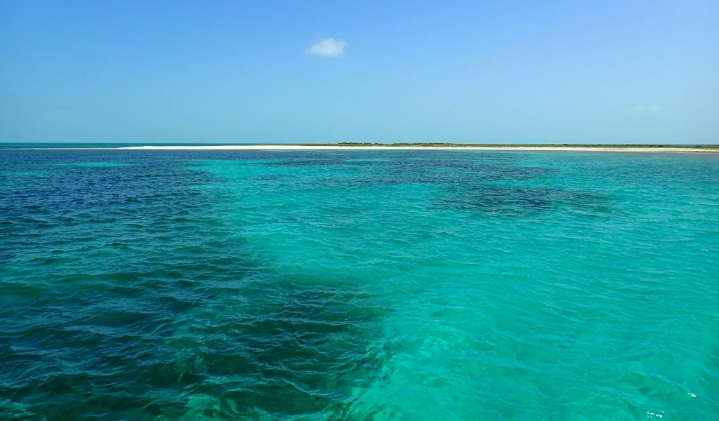 View from Dive Boat Turks & Caicos