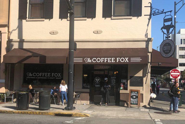 Savannah the Coffee Fox