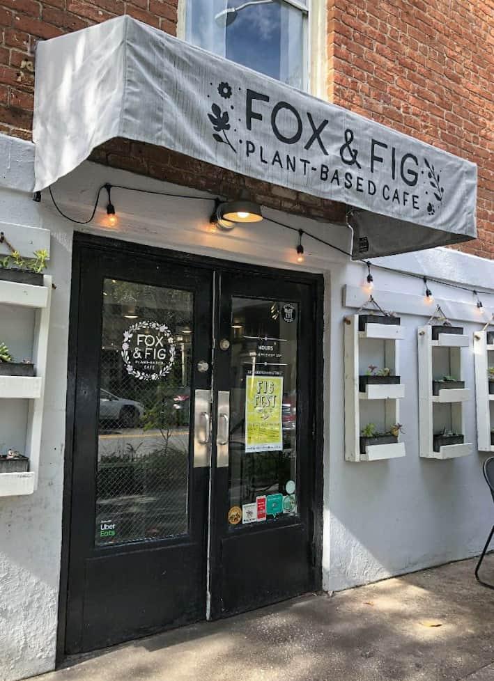 Savannah Fox and Fig Entrance