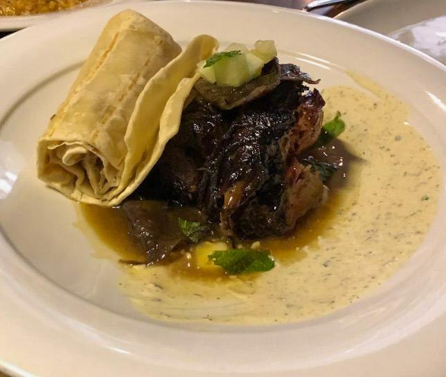 Taco Entree at The Grey in Savannah