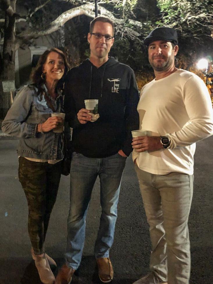 Friends on Haunted Pub Tour in Savannah
