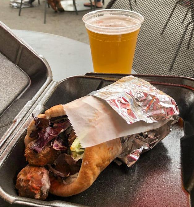 Lunch at Zunzis in Savannah GA