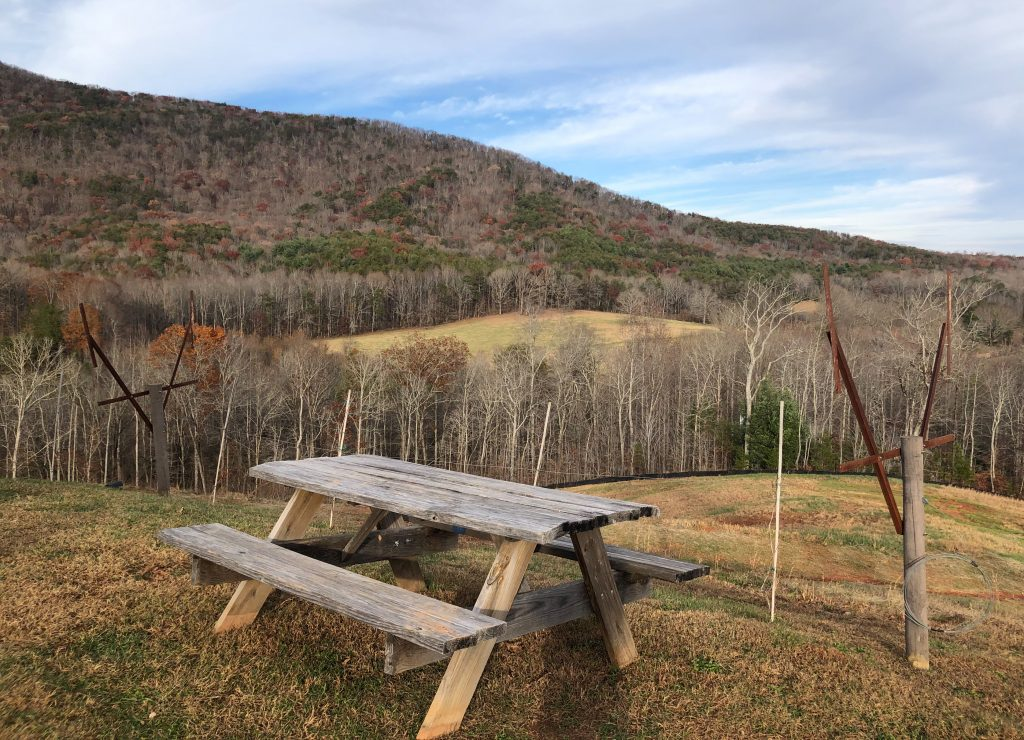 The Cottage Vineyard Picnic Table