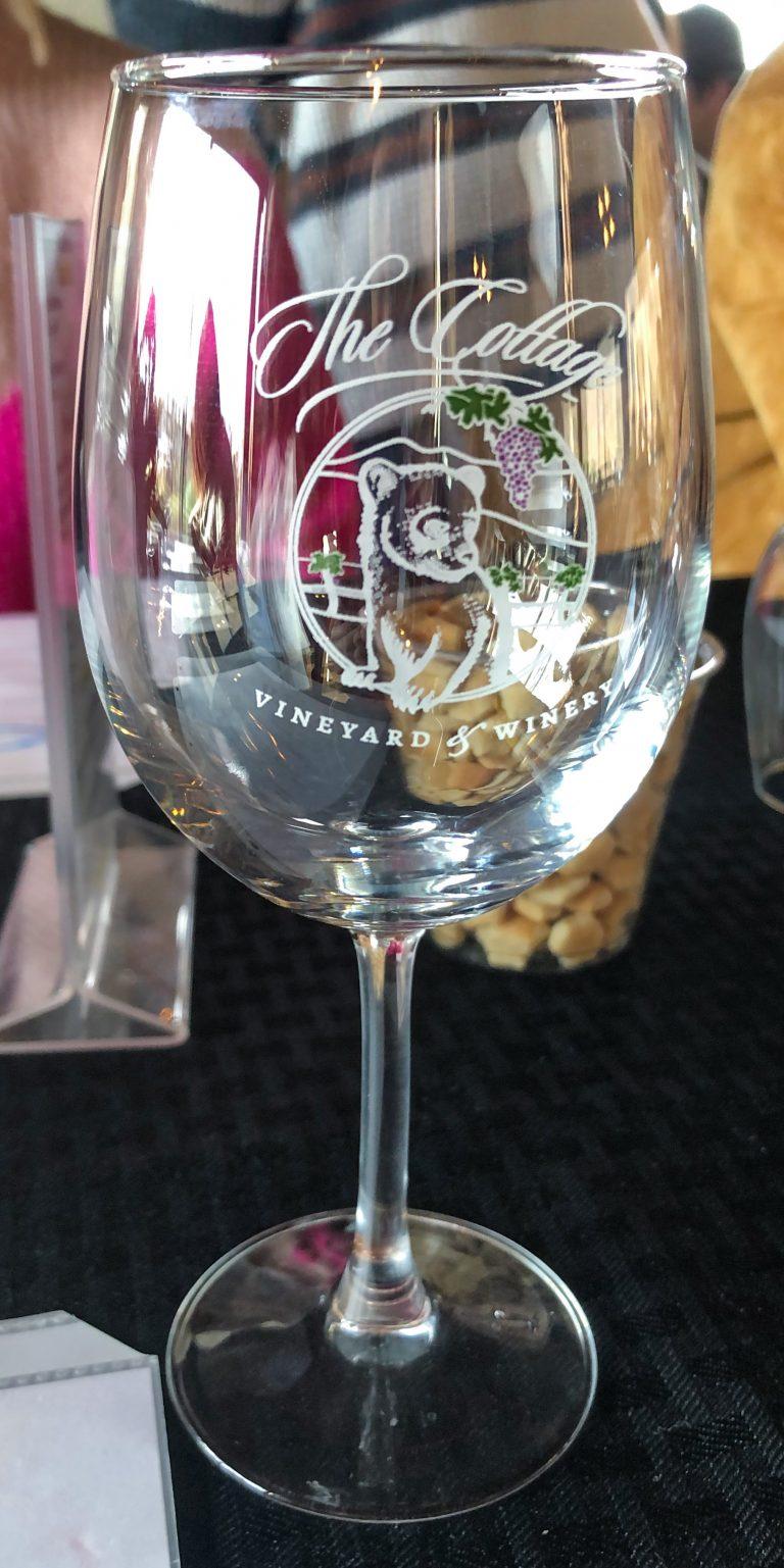 Cottage Vineyard Wine Glass