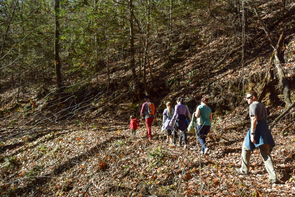 Group Hiking at Smithgall Woods State Park