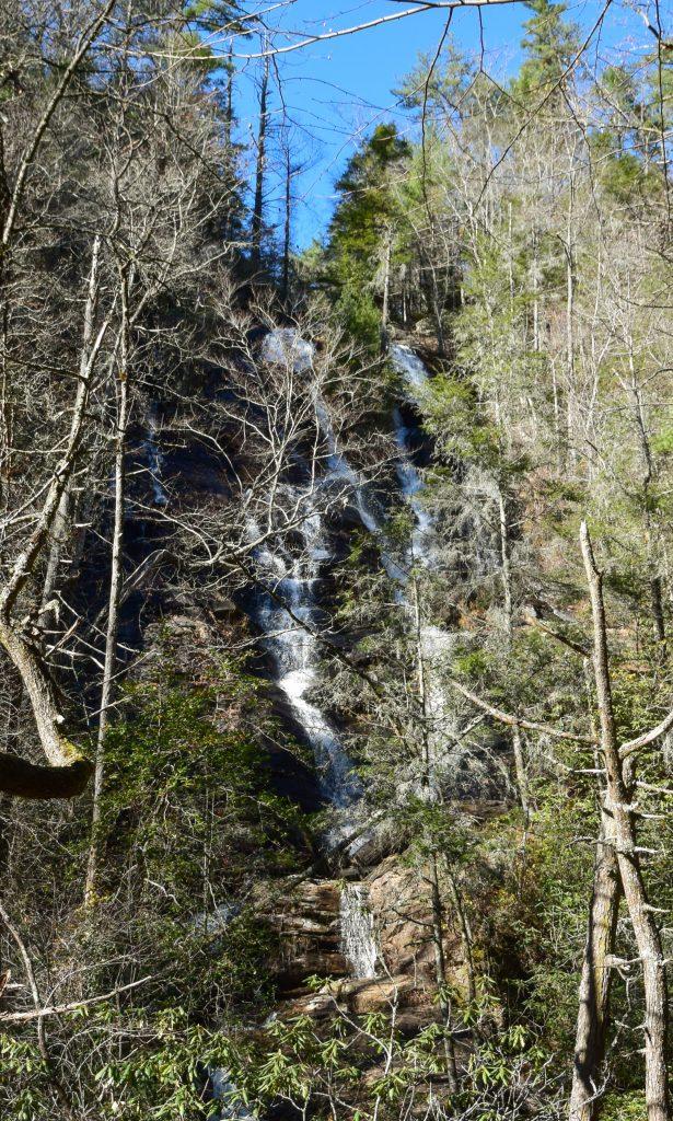 Dukes Creek Tall Waterfall