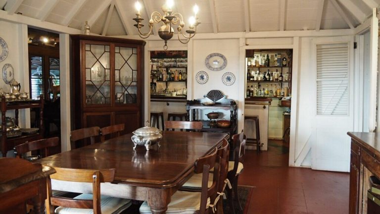 Hermitage Nevis Dining Room