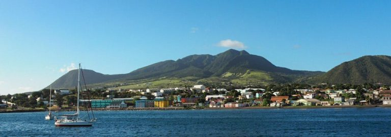 St Kitts View from the Ferry