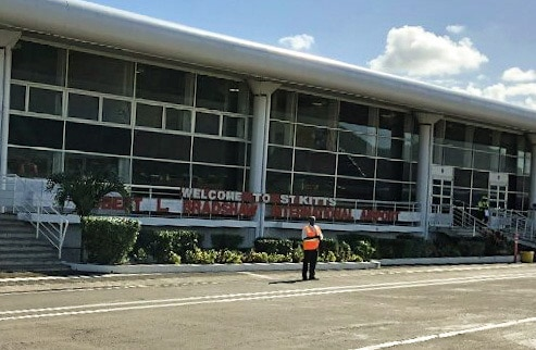 Welcome to St Kitts Airport