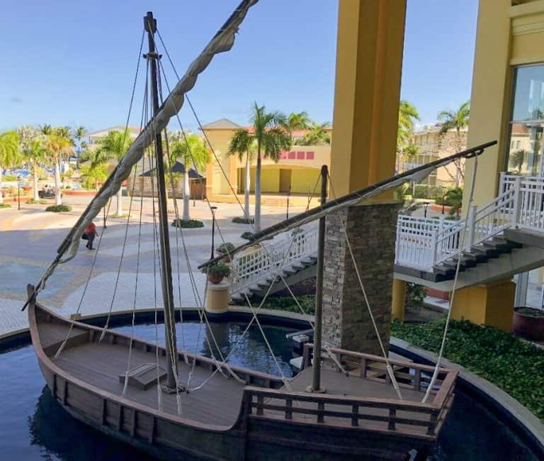 Boat at St Kitts Marriott Resort