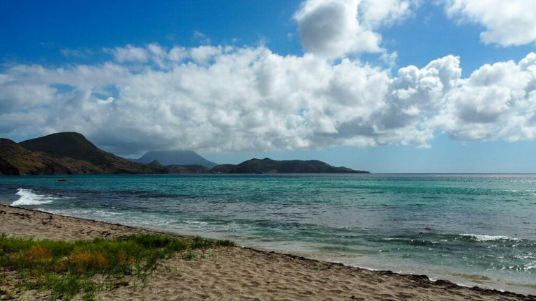 View of the Ocean in St Kitts