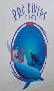 Pro Diver St Kitts Logo