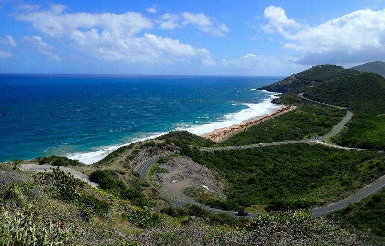 View from Timothy Hill St Kitts