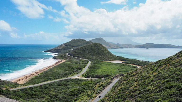 St Kitts view from Timothy Hill