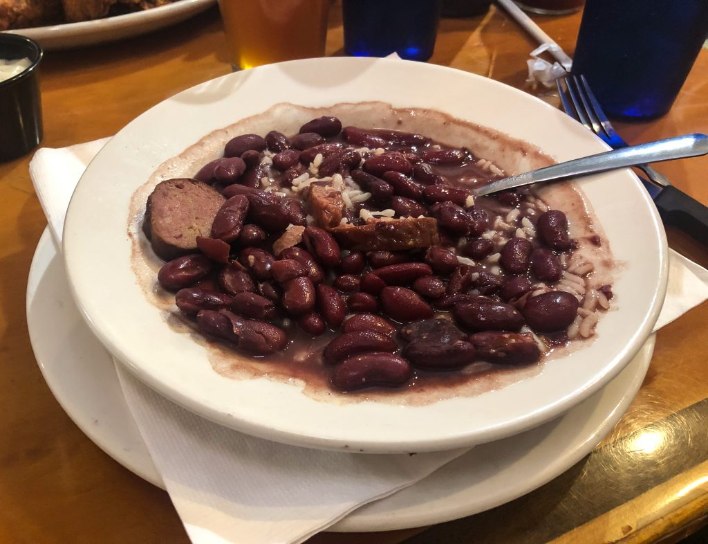 Red Beans and Rice at Bayou Smokehouse