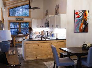 Beech Mountain AirBnb Kitchen