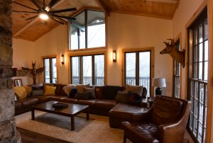 Beech Mountain AirBnb Living Room