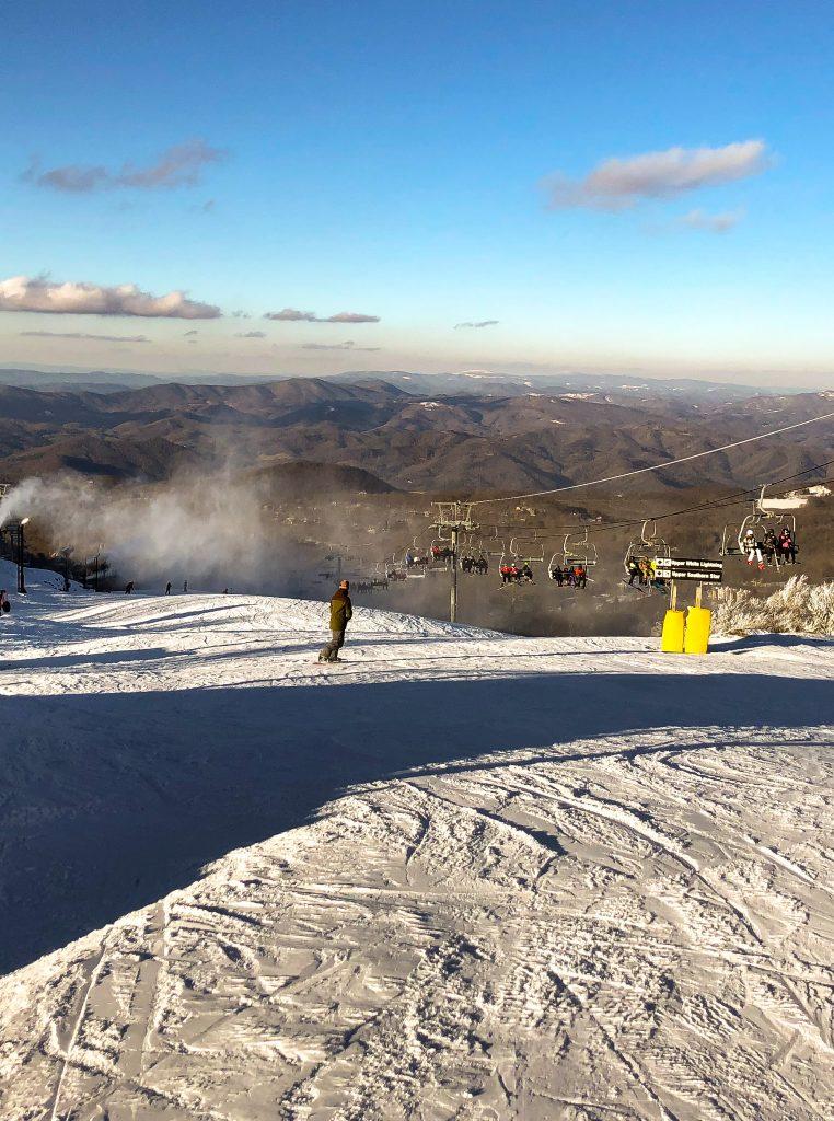 Beech Mountain Ski Slope