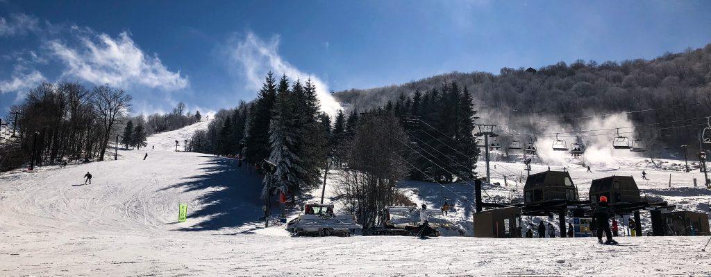 East Coast Snowboarding in Beech Mountain North Carolina