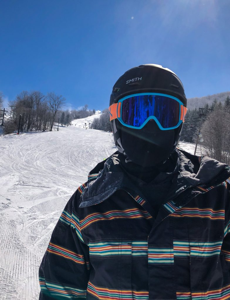 Chris on Slopes at Beech Mountain