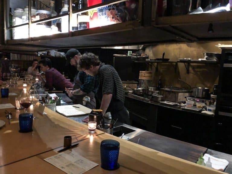 Chefs at Bastion in Nashville TN