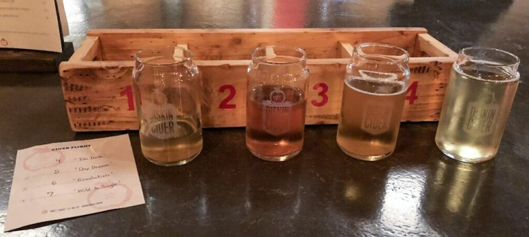Cider Tasting at Diskin Cidery Nashville TN