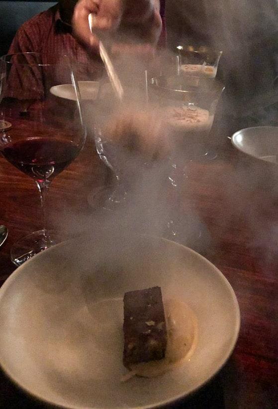 Liquid Nitrogen Dessert at Rabbit Hole Nashville