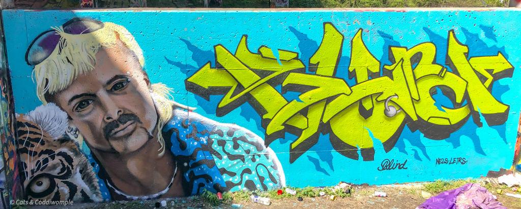 Tiger King Street Art Atlanta Beltline