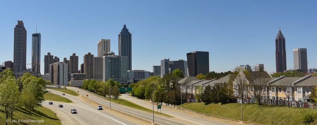 Atlanta from Jackson Street Bridge