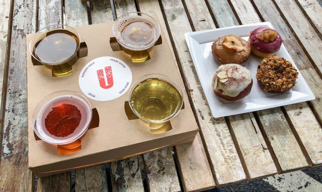 Doughnut Pairing at Urban Tree Cidery