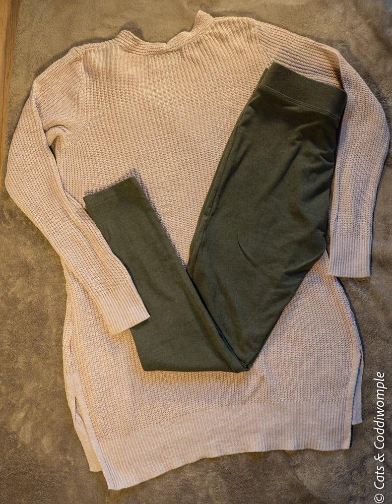 Tunic Sweater & Leggings